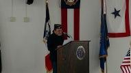 Post Commander Fred Gregg