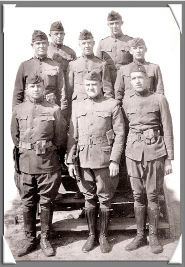 col tinley and staff