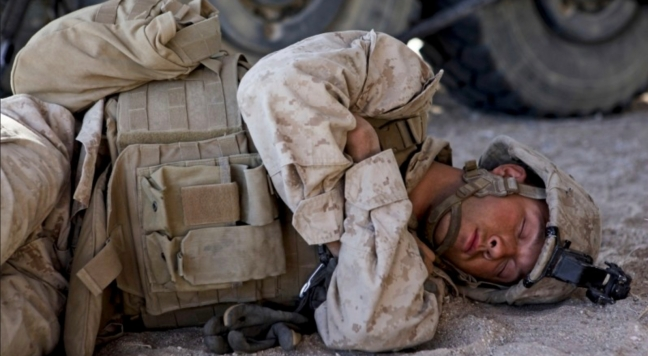 Marine Sleeping